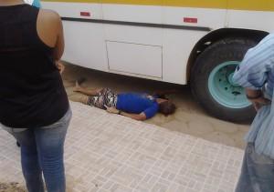 Vítima foi socorrida e lavada ainda com vida ao Hospital São Marcos, onde veio falecer