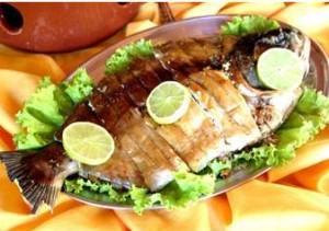 Dieta à  base de peixe