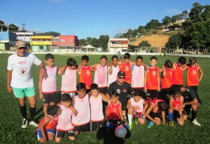 Atletas  jovens de Vila Pavão e Vila Paulista se encontram no dia 05 de julho