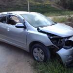 Acidente aconteceu na noite de sábado, 27, no distrito de  Todos os Santos, interior de Vila Pavão