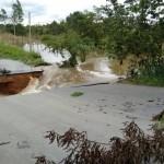Enchentes causaram diversos estragos. Foto: A Gazeta