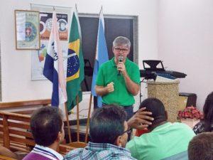 O prefeito de Vila Pavão, Irineu Wutke