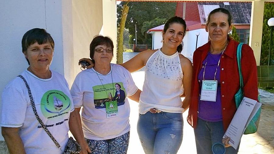 Voluntários da Secretaria de Saúde