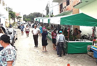 A feira é realizada todas as manhãs de sextas-feiras na rua Desembargador Santos Neves, centro da cidade
