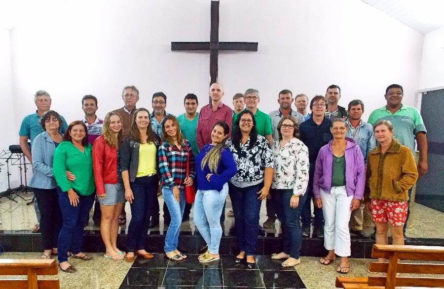 Audiência pública foi realizada na Igreja Evangélica Luterana da Comunidade de Rio XV