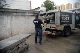 O corpo vitima foi caminhado para o SML de Linhares.