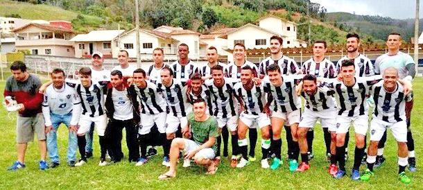 A equipe do Atlético