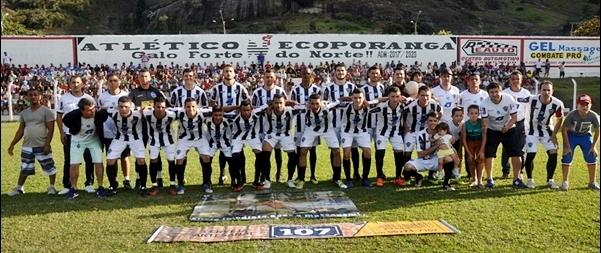 O Atlético de Ecopranga derrotou o Montanha na primeira partida da final da Copa Norte