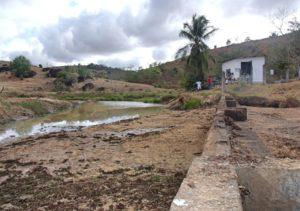 Reservatório do Córrego do socorro está em estado crítico. Abastecimento da 7 às 19 horas